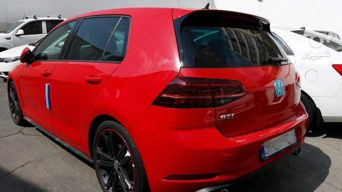 فولکس واگن گلف 2018 قرمز در گروه خرید و فروش وسایل نقلیه در تهران در شیپور-عکس2