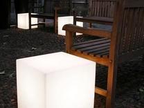 باکس مکعب مربع نشیمن نوری led روشنایی مکعبی دکوری میز سوارز  در شیپور
