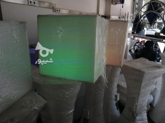 باکس مکعب مربع نشیمن نوری led روشنایی مکعبی دکوری میز سوارز  در گروه خرید و فروش لوازم خانگی در تهران در شیپور-عکس6