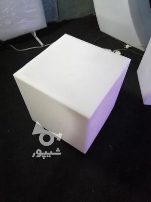 باکس مکعب مربع نشیمن نوری led روشنایی مکعبی دکوری میز سوارز  در گروه خرید و فروش لوازم خانگی در تهران در شیپور-عکس5