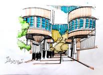 تدریس خصوصی اسکیس در روند طراحی معماری تفکر ترسیمی در شیپور-عکس کوچک