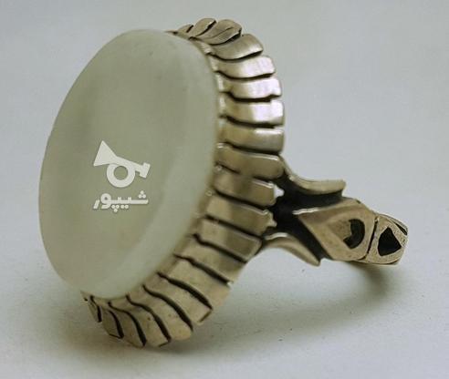 انگشتر نقره سنگ حرم امام حسین در گروه خرید و فروش لوازم شخصی در تهران در شیپور-عکس1