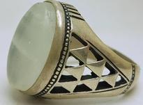 انگشتر نقره سنگ حرم امام حسین در شیپور-عکس کوچک