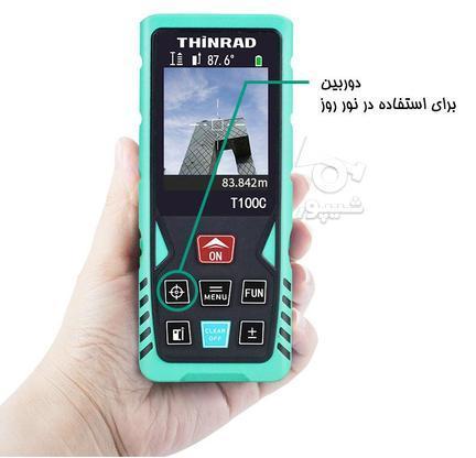 مترلیزری متر لیزری دیجیتال 100 متری دوربین دار در گروه خرید و فروش صنعتی، اداری و تجاری در تهران در شیپور-عکس1