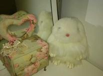 عروسک خرگوش سفید  در شیپور-عکس کوچک