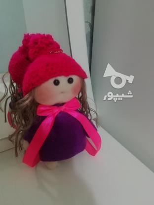 عروسک روسی لباس بنفش سایز کوچک  در گروه خرید و فروش ورزش فرهنگ فراغت در گیلان در شیپور-عکس3