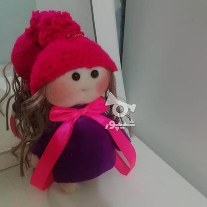 عروسک روسی لباس بنفش سایز کوچک  در گروه خرید و فروش ورزش فرهنگ فراغت در گیلان در شیپور-عکس1