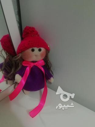عروسک روسی لباس بنفش سایز کوچک  در گروه خرید و فروش ورزش فرهنگ فراغت در گیلان در شیپور-عکس4