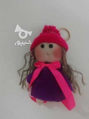 عروسک روسی لباس بنفش سایز کوچک  در گروه خرید و فروش ورزش فرهنگ فراغت در گیلان در شیپور-عکس2