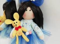عروسک روسی با لباس  آبی  در شیپور-عکس کوچک