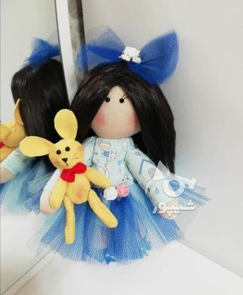 عروسک روسی با لباس  آبی  در گروه خرید و فروش ورزش فرهنگ فراغت در گیلان در شیپور-عکس1