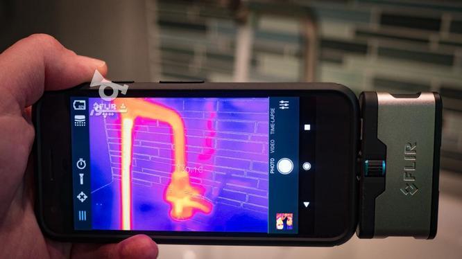 مبدل دوربین تصویر برداری حرارتی مدل FLIR ONE PRO در گروه خرید و فروش صنعتی، اداری و تجاری در تهران در شیپور-عکس1