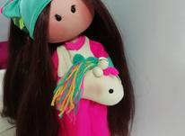 عروسک روسی مدل تک شاخ سایز بزرگ  در شیپور-عکس کوچک