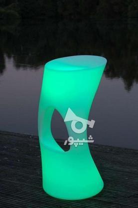 صندلی کمر باریک بلند اپن نوری ledمیز سوآرز ال ای دی چراغ دار در گروه خرید و فروش صنعتی، اداری و تجاری در تهران در شیپور-عکس2