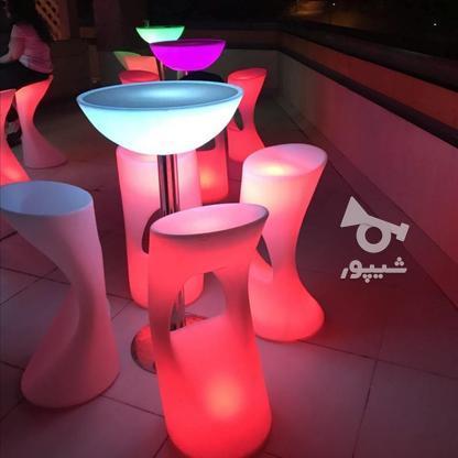 صندلی کمر باریک بلند اپن نوری ledمیز سوآرز ال ای دی چراغ دار در گروه خرید و فروش صنعتی، اداری و تجاری در تهران در شیپور-عکس3