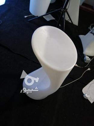 صندلی کمر باریک بلند اپن نوری ledمیز سوآرز ال ای دی چراغ دار در گروه خرید و فروش صنعتی، اداری و تجاری در تهران در شیپور-عکس5