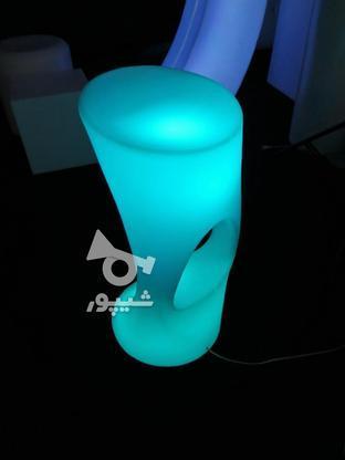 صندلی کمر باریک بلند اپن نوری ledمیز سوآرز ال ای دی چراغ دار در گروه خرید و فروش صنعتی، اداری و تجاری در تهران در شیپور-عکس1