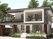 طراحی معماری نقشه ویلا دوبلکس تریبلکس مدرن  در شیپور-عکس کوچک