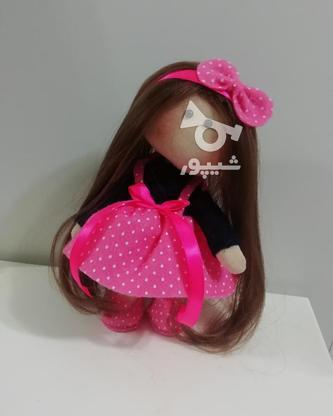 عروسک روسی با پاپیون صورتی  در گروه خرید و فروش ورزش فرهنگ فراغت در گیلان در شیپور-عکس2