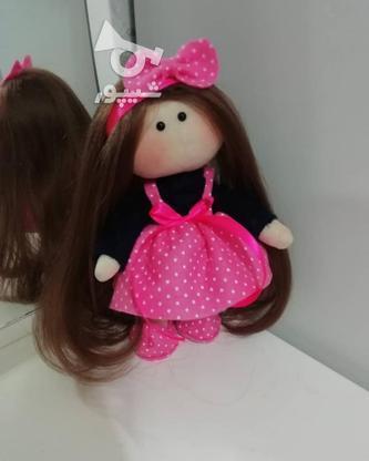 عروسک روسی با پاپیون صورتی  در گروه خرید و فروش ورزش فرهنگ فراغت در گیلان در شیپور-عکس3
