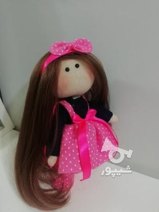 عروسک روسی با پاپیون صورتی  در گروه خرید و فروش ورزش فرهنگ فراغت در گیلان در شیپور-عکس8