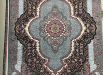فرش افشان درباری سرمه ای 6متری در شیپور-عکس کوچک