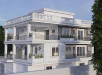نقشه ویلا معماری نما استخر دفتر فنی مهندسی در شیپور-عکس کوچک