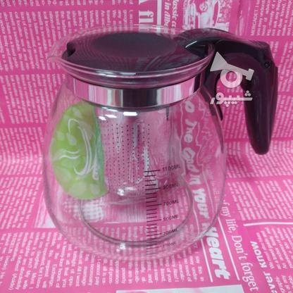 قوری پیرکس 1.1 لیتری در گروه خرید و فروش لوازم خانگی در تهران در شیپور-عکس1