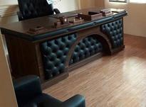 میز ریاست چرمی لمسه هلالی در شیپور-عکس کوچک