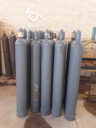 کپسول اکسیژن 40 لیتری آلمانی تست با شیر نو در گروه خرید و فروش صنعتی، اداری و تجاری در اصفهان در شیپور-عکس1