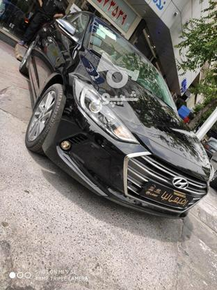 هیوندای النترا 2018  مشکی در گروه خرید و فروش وسایل نقلیه در تهران در شیپور-عکس1
