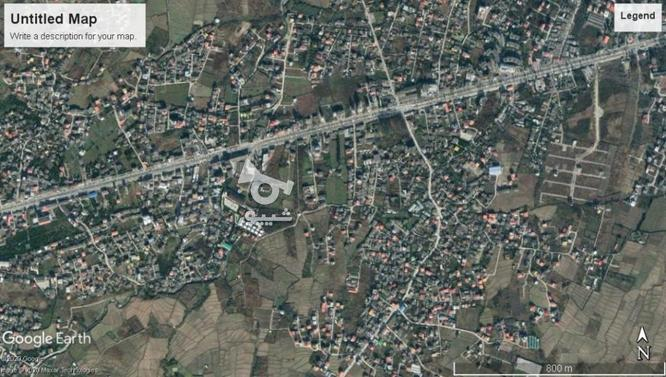 فروش 272متر زمین خ 17 شهریور چالوس در گروه خرید و فروش املاک در مازندران در شیپور-عکس1