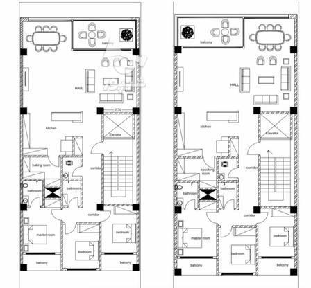 پیش فروش آپارتمان 200 متری ساحلی در گروه خرید و فروش املاک در مازندران در شیپور-عکس4