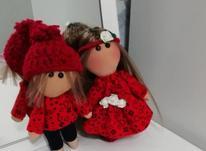 عروسک روسی ست قرمز  در شیپور-عکس کوچک