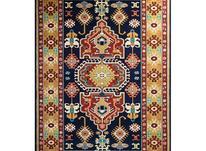فرش ماشینی ساوین طرح گبه دستباف فانتزی طوبی سرمه ای در شیپور-عکس کوچک