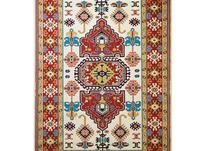 فرش ماشینی ساوین طرح گبه دستباف فانتزی طوبی کرم در شیپور-عکس کوچک