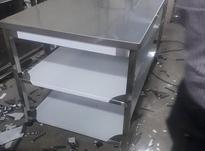 میز کار استیل/میزکاراستیل/میزاستیل/تمام استیل در شیپور-عکس کوچک