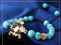 دستبند مهره ای طلا بچگانه در شیپور-عکس کوچک