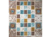 فرش ماشینی ساوین طرح مدرن فانتزی 1504 آبی در شیپور-عکس کوچک