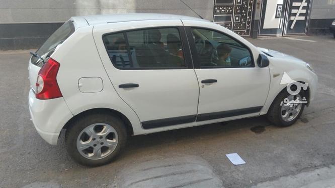 رنو ساندرو دنده ای سفید 95 در گروه خرید و فروش وسایل نقلیه در آذربایجان غربی در شیپور-عکس2