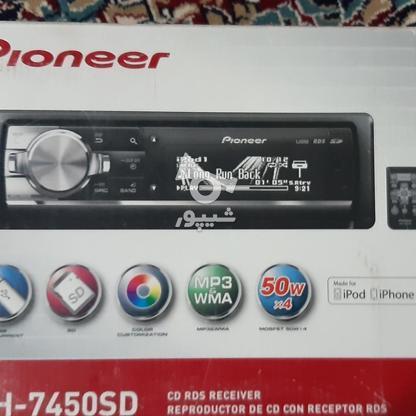 ضبط و پخش پایونر مدل 7450 در گروه خرید و فروش وسایل نقلیه در کرمان در شیپور-عکس2