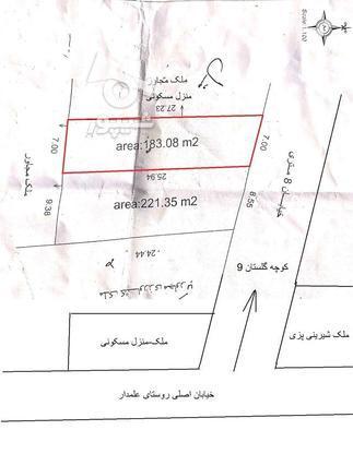 زمین 183 متری در گروه خرید و فروش املاک در مازندران در شیپور-عکس1