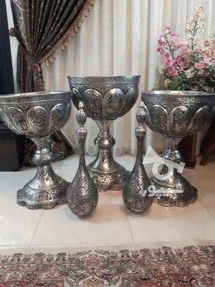 مجموعه قلمزنی مسی قلم زنی 5تیکه یجا تکی ندارم در گروه خرید و فروش لوازم خانگی در اصفهان در شیپور-عکس1