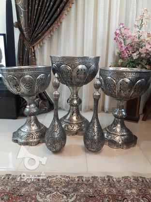 مجموعه قلمزنی مسی قلم زنی 5تیکه یجا تکی ندارم در گروه خرید و فروش لوازم خانگی در اصفهان در شیپور-عکس3