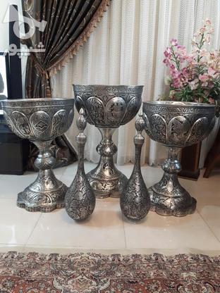 مجموعه قلمزنی مسی قلم زنی 5تیکه یجا تکی ندارم در گروه خرید و فروش لوازم خانگی در اصفهان در شیپور-عکس2