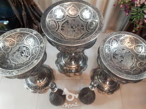 مجموعه قلمزنی مسی قلم زنی 5تیکه یجا تکی ندارم در گروه خرید و فروش لوازم خانگی در اصفهان در شیپور-عکس4