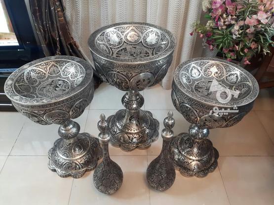 مجموعه قلمزنی مسی قلم زنی 5تیکه یجا تکی ندارم در گروه خرید و فروش لوازم خانگی در اصفهان در شیپور-عکس6