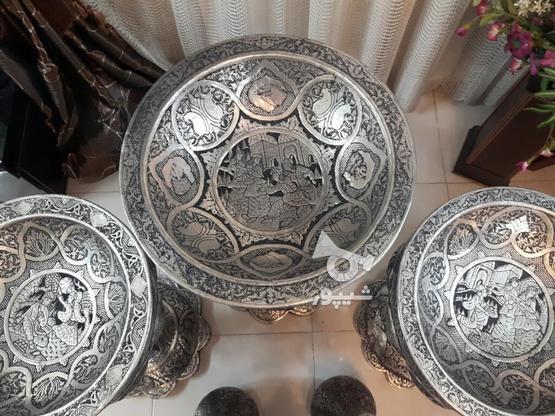 مجموعه قلمزنی مسی قلم زنی 5تیکه یجا تکی ندارم در گروه خرید و فروش لوازم خانگی در اصفهان در شیپور-عکس7