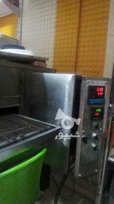 فر پیتزا ریلی 3 ردیفه در گروه خرید و فروش صنعتی، اداری و تجاری در اصفهان در شیپور-عکس2