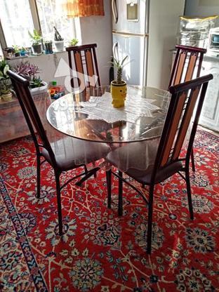 میز ناهار خوری چهار نفره ففوروژه در گروه خرید و فروش لوازم خانگی در مازندران در شیپور-عکس1